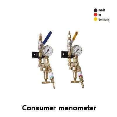 مانومتر مصرف کننده